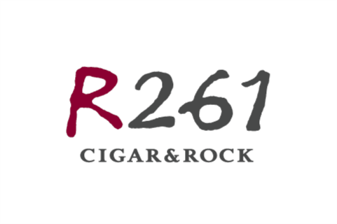 CIGAR BAR 「R261 CIGAR&ROCK」ロゴマーク