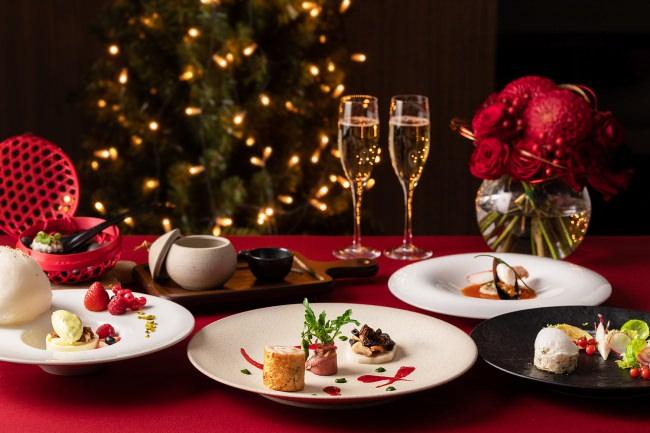 聖夜を彩るクリスマスディナーコース
