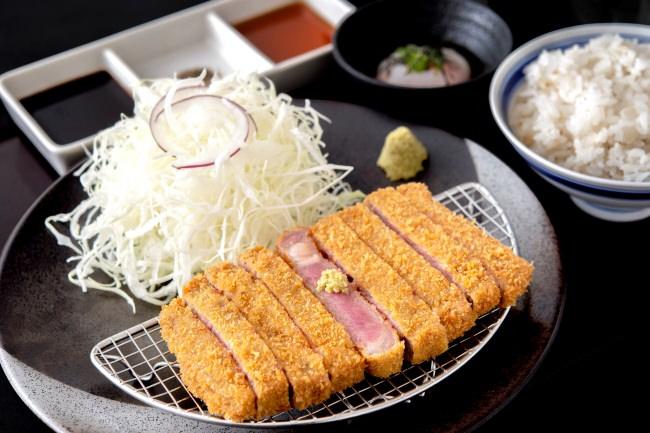 牛リブロースカツ膳:1,280円(+税)