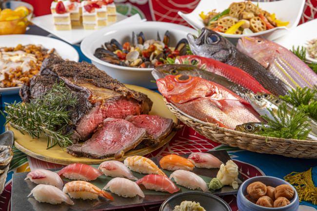 「相模湾近海の地魚料理とお寿司のランチビュッフェ」~美味しいローカルシーフードに舌鼓~