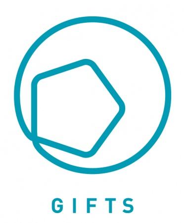 私たちが大切にしたい5つの想い GIFTS ロゴ