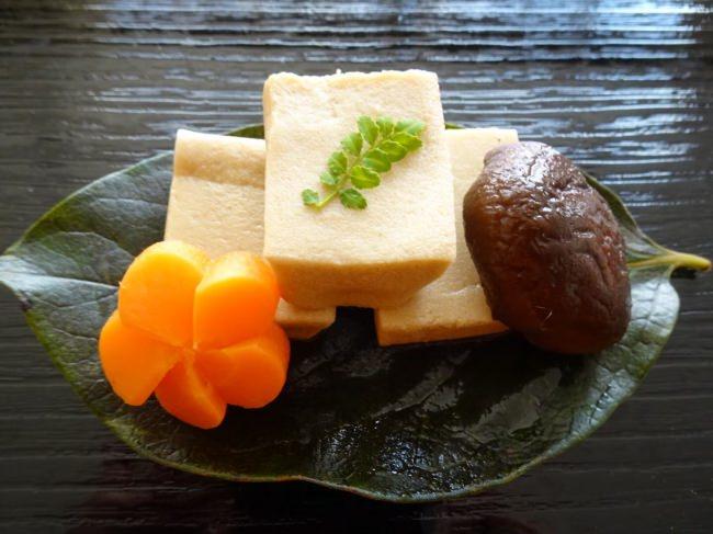 高野豆腐と干し椎茸