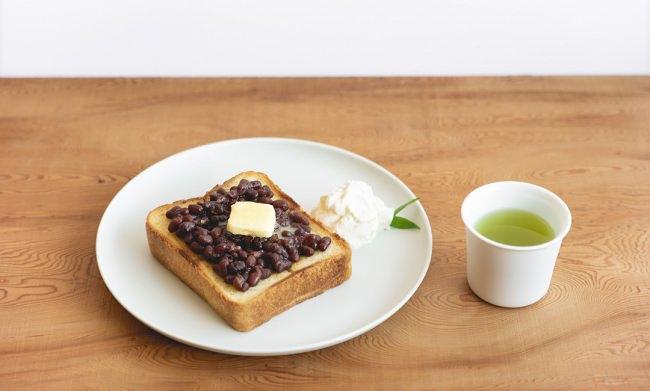 【東京茶寮】極上サクフワの「あんバタートースト」が土日祝限定メニューとして登場!パンとお茶のペアリングを提案。