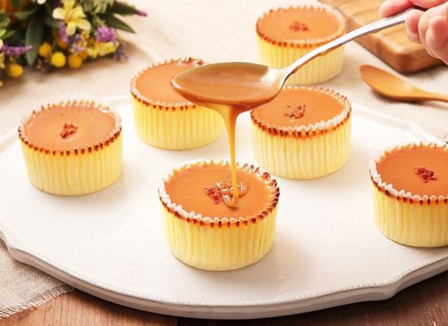 大人気バスクスチーズケーキの新しいお味「塩キャラメル×バスクチーズケーキ」の販売を1月8日より開始いたします。