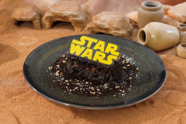 <STAR WARS >はるか彼方の銀河系ブラックカレー
