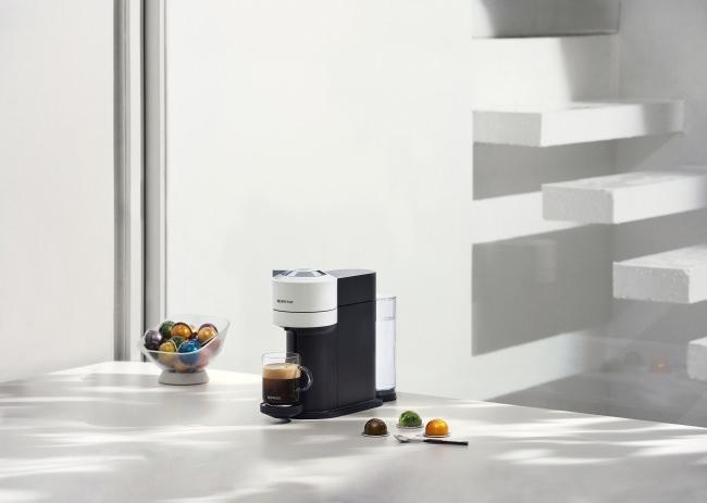 ネスプレッソの新しいコーヒーシステムが日本初上陸 新作法。コーヒーとクレマを一緒に楽しむ。「VERTUO(ヴァーチュオ)」 1月30日(木)新発売