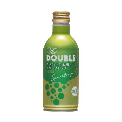 ~ 新体感!白ワインと日本酒のスパークリングリキュール ~ 「The DOUBLE 270mlボトル缶詰」新発売!
