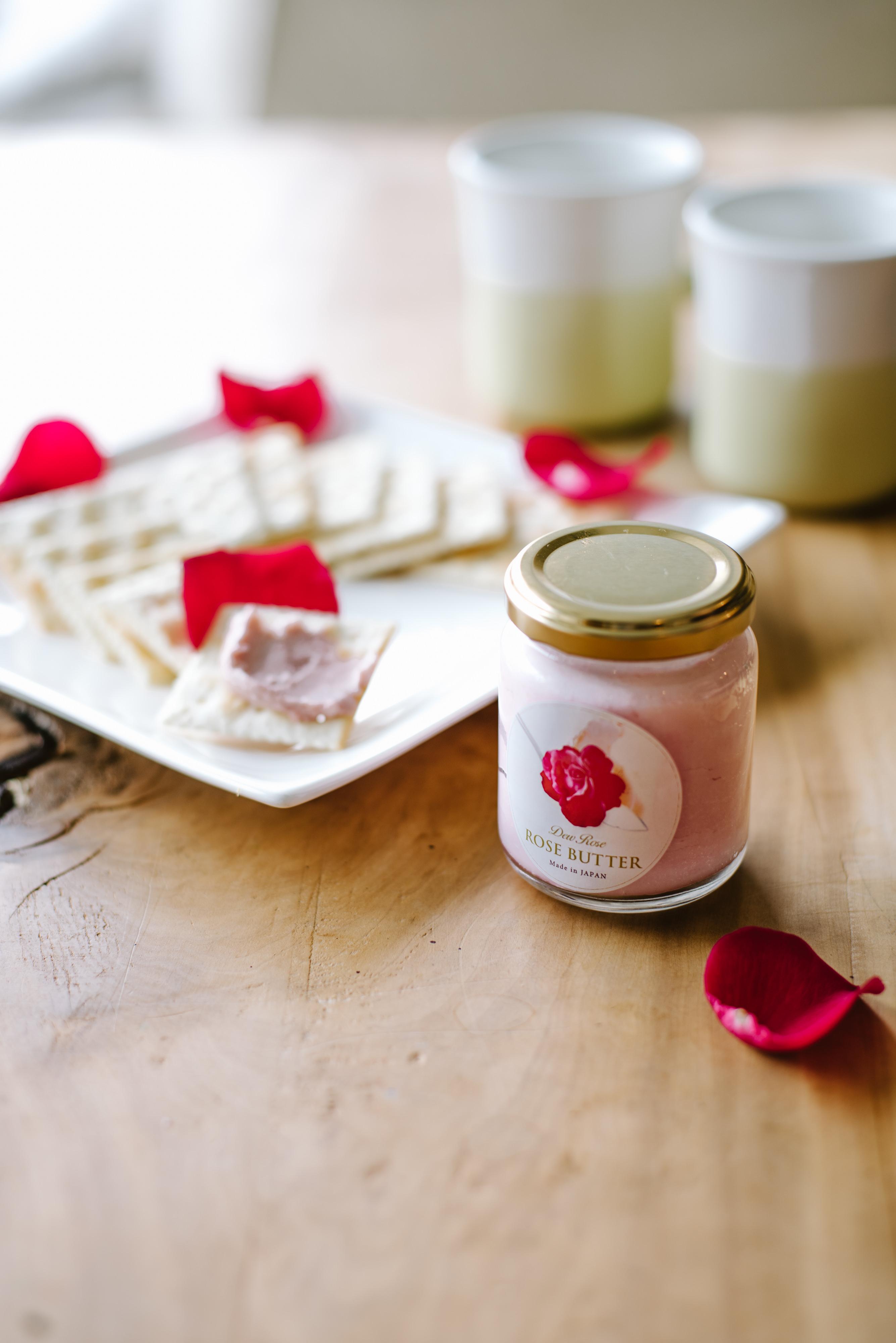 オーガニックのこだわりを凝縮した薔薇の風味豊かなバター 『DewRose BUTTER』1/28 販売開始!2種類の甘さでご用意