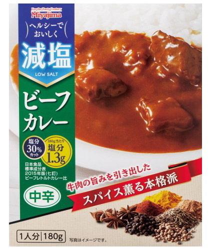 宮島醤油、「減塩ビーフカレー」「減塩ステーキスパイス」を 2020年3月より新発売!