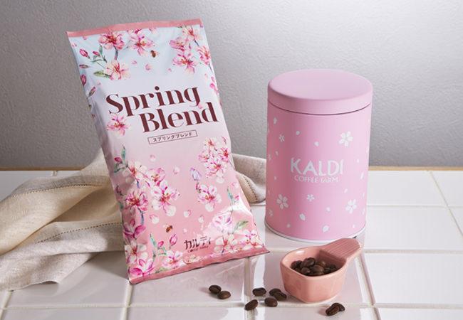 【3/9(月)発売】今年はメジャースプーン付き!「春のキャニスター缶セット」