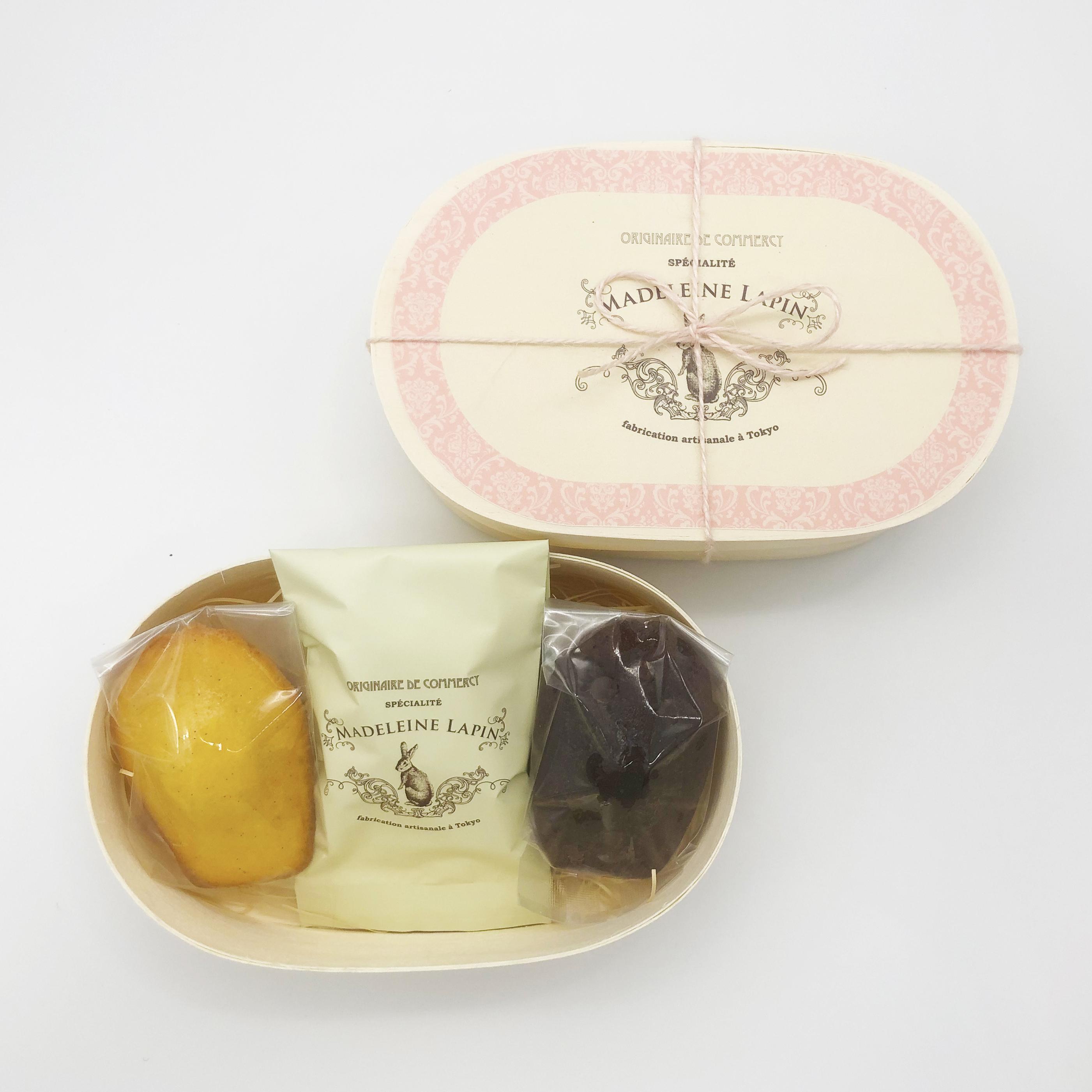 日本初の無添加マドレーヌ専門店<マドレーヌラパン>、 春のギフトシーズン向けのマドレーヌギフトボックス2種類を 2月29日より期間限定で販売
