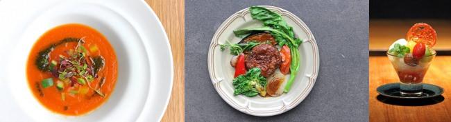 ベジタブル・レストラン「CROSS TOKYO」とのコラボコース「タキイ種苗×CROSS TOKYOのベジタブルコース」が3月6日(金)より期間・数量限定発売