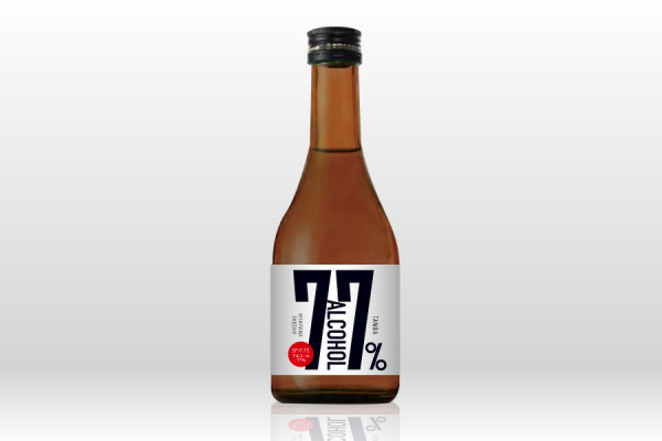 高濃度アルコール酒「丹波ALCOHOL77%」を予約販売開始
