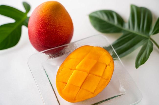 宮崎を代表する高級フルーツ・完熟マンゴー。7月下旬まで収穫、発送が予定されている。