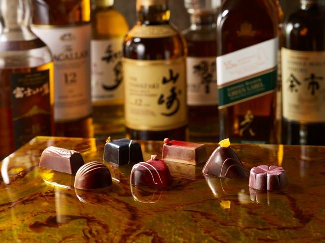 ザ・プリンス パークタワー東京 国産や世界的に人気のウイスキーを使った「プレミアムウイスキー ボンボンショコラ」を販売