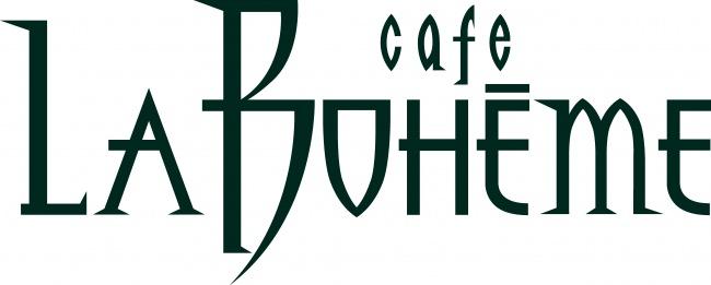 カフェ ラ・ボエム ロゴ