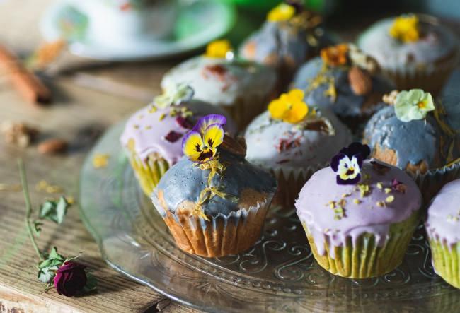 可愛さも美味しさも欲張りたい!HANABARより『お花のマフィン』の販売を開始致します。