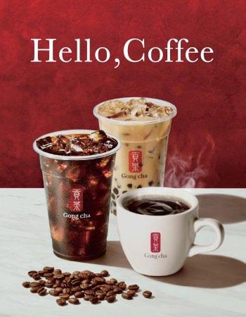 「ゴンチャ」がコーヒー?!2020年6月17日(水)よりグランデュオ立川店にて販売開始