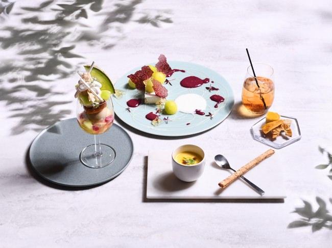 完全予約制フルーツのフルコース専門店「フルーツサロン」メロンづくしの贅沢フルコースが7月1日より登場