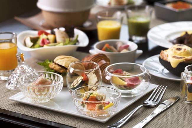 アトリウムの新スタイルの朝食ブッフェ イメージ