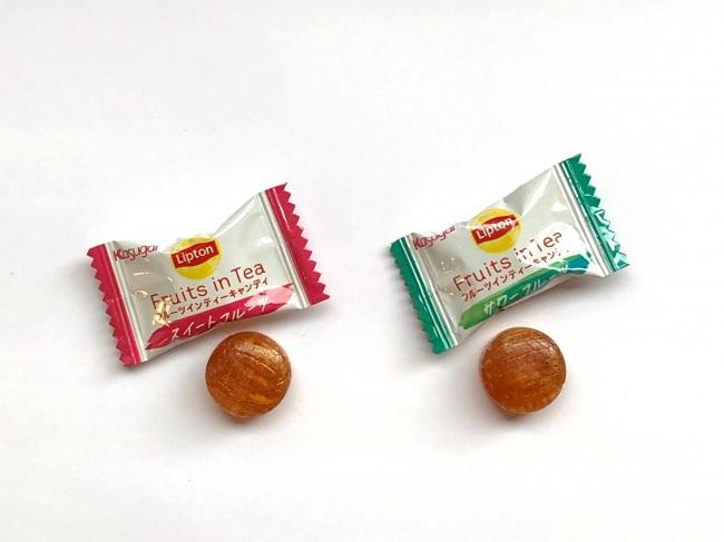 キャンディは個包装されています。