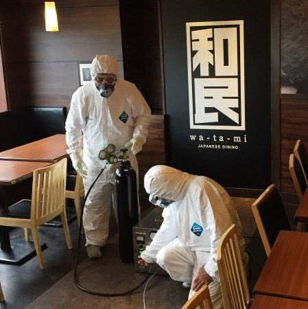 外食産業初!コロナ時代の店舗消毒システムを導入、新型コロナウイルス99%不活化が確認されたオゾンで店内消毒を首都圏全店舗で実施へ