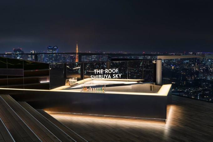 東京の絶景を一望!渋谷に最高峰のルーフトップバー『ザ・ルーフ 渋谷スカイ』がオープン