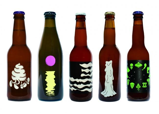 Omnipollo のブランドアイデンティティともなるボトルデザイン