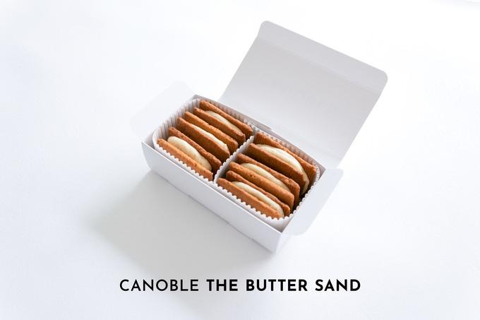 バター専門店『カノーブル』にバターのテクニックを詰め込んだ「本気のバターサンド」が登場