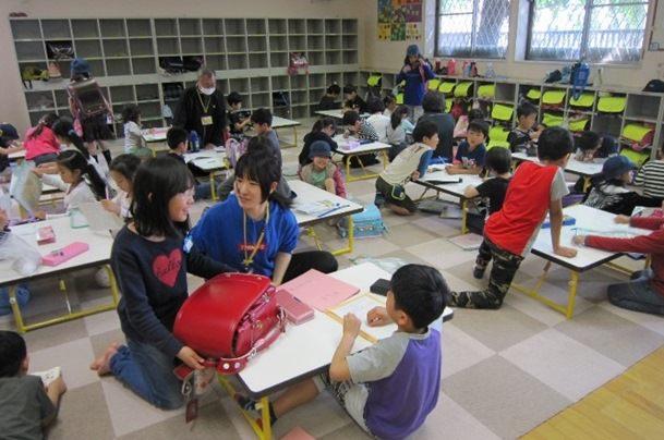 豊島区立学童クラブの様子(出:としまの教育)
