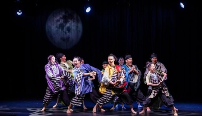 ▲「波乗亭」杮落とし公演「淡路の月に誓う」