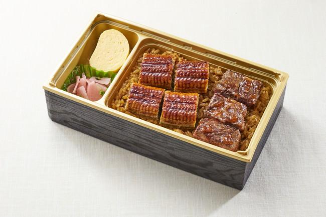 うなぎ&牛ステーキ重  998円(+税) → 698円(+税)