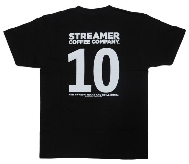 スタンプ7個集めて: 10周年限定Tシャツ(先着10名)  BLACK/WHITE   M/L/XL