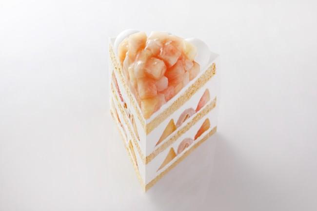"""2週間だけの""""幻のケーキ""""を明日から超期間限定販売!『新エクストラスーパーピーチショートケーキ』登場!"""