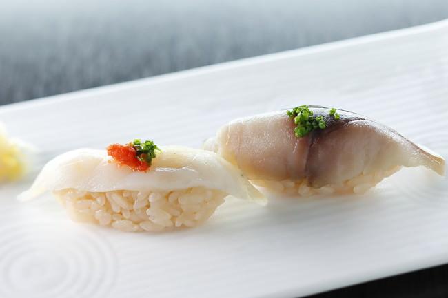 燻製ふぐ&燻製鯖寿司(山口)