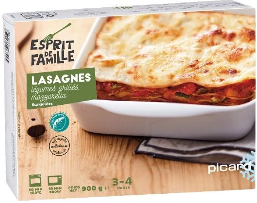モッツァレラチーズと野菜のラザニア