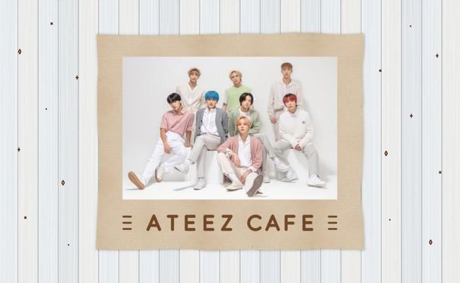 「ATEEZ」のコラボカフェが初登場!「ATEEZカフェ」東京・大阪で開催決定!!東京:2020年9月3日(木)~/大阪:2020年9月26日(土)~