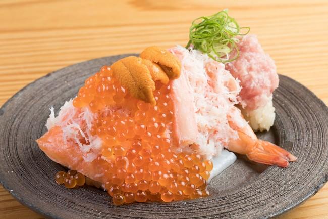 海鮮やりすぎのっけ寿司