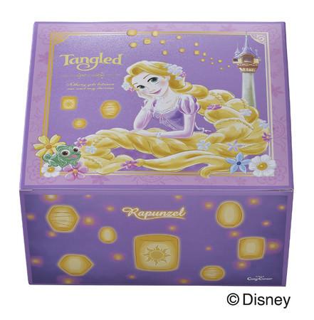 「ラプンツェル」をデザインした専用BOX