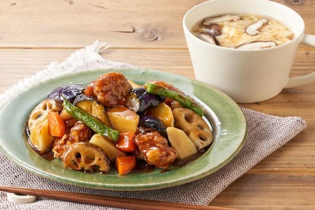 Oisix、大戸屋監修のミールキットで大戸屋の味をご自宅で再現   第一弾はナンバー1の人気メニュー「鶏と野菜の黒酢あん」を販売