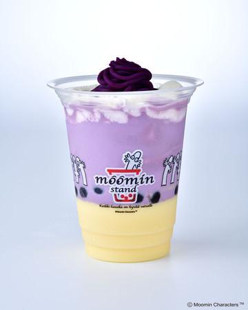 むらさき芋プリンミルク(COLD)