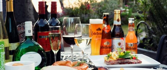 本場ドイツの厳選されたワイン、ビール