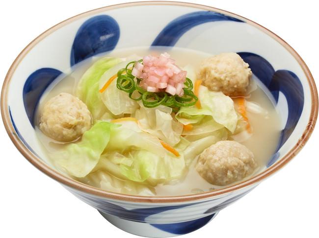 新生姜白湯うどん