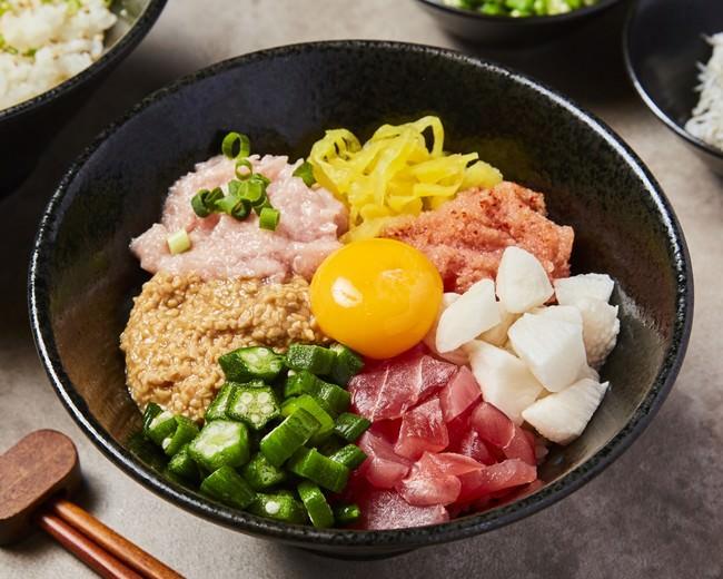 海鮮バクダンの卵かけご飯