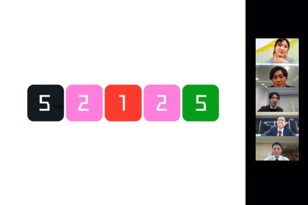 オンライン謎解きゲーム実施写真 (画像の答えは最後にございます)