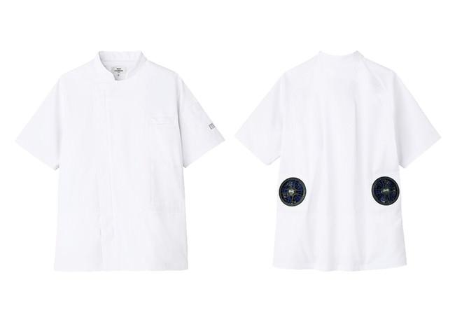 KC-8717(半袖) ホワイト