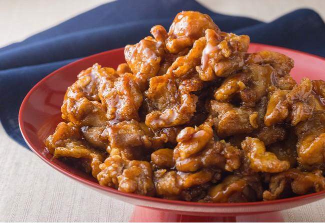 国産鶏の黒酢あん (1パック約100g  税込600円)