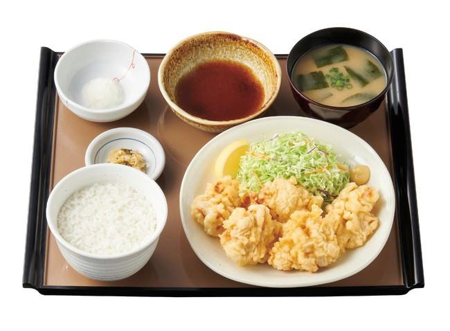 とり天定食 790円(税込)