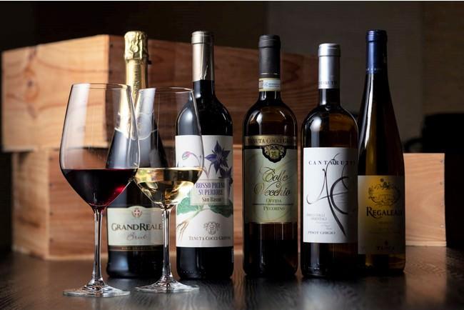 イタリアワインのラインナップ「イタリアンジャーニー」1本3,300円