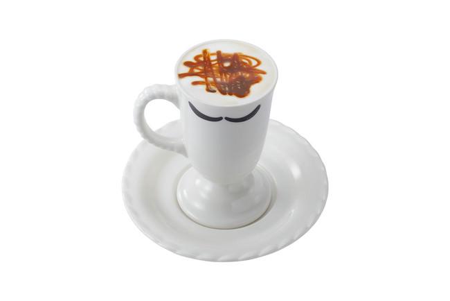 贅沢ミルク泡キャラメルマキアート
